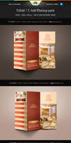 Trifold And Z-fold Mockup Pack