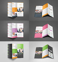 Corporate Business Trifold Brochure by Saptarang