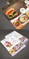 Bestaste Food Product Flyer by Saptarang