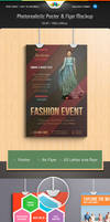 Photorealistic Poster and Flyer Mockup Pack