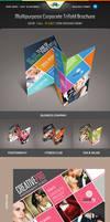 Multipurpose Corporate Trifold Brochure