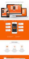 Appreative Responsive Landing Page Template by Saptarang