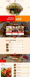 SpiceHub Restaurant Responsive Landing Page by Saptarang