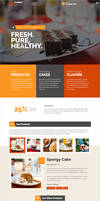Products Services Landing Page