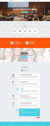 Proconf Event Landing Page by Saptarang
