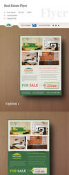 Real Estate Flyer Template by Saptarang