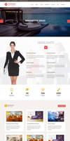 Striking Interior HTML Template Home 2 by Saptarang