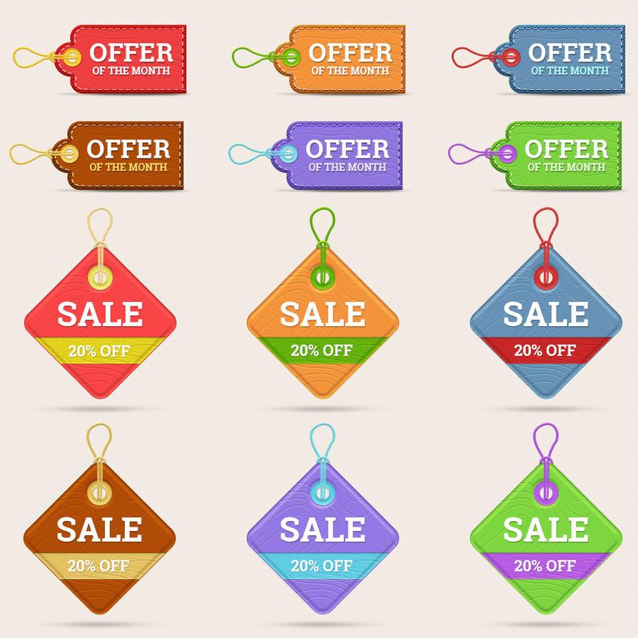 Web Element - Price Tags by Saptarang
