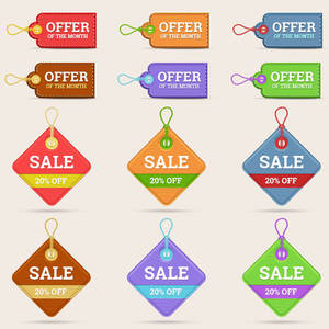 Web Element - Price Tags