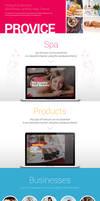 Provice WordPress Landing Page