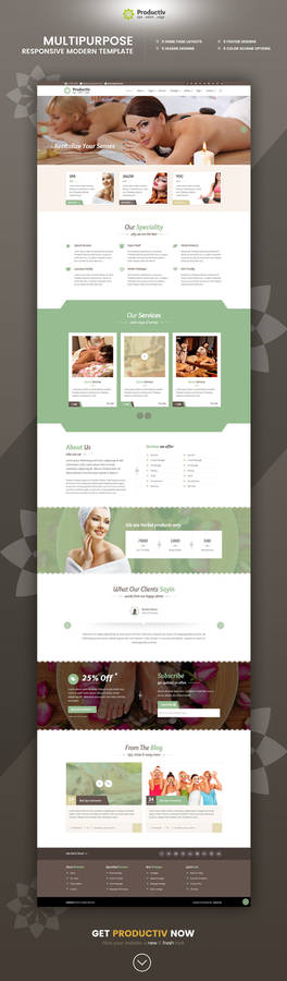 Productiv Multipurpose Responsive HTML Template