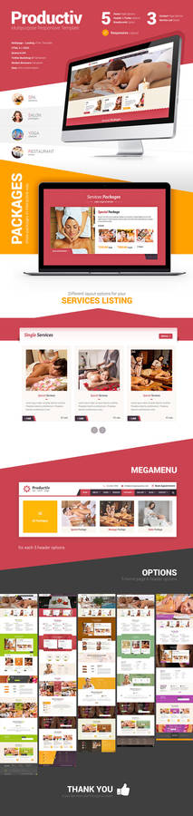 Productiv Responsive Template