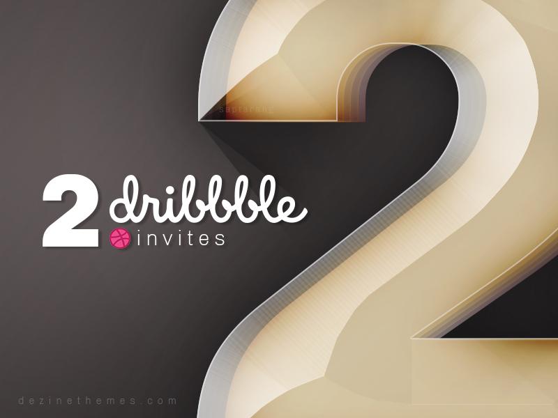 Dribbble Invite by Saptarang