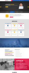 StartUp-Me Resonsive template by Saptarang