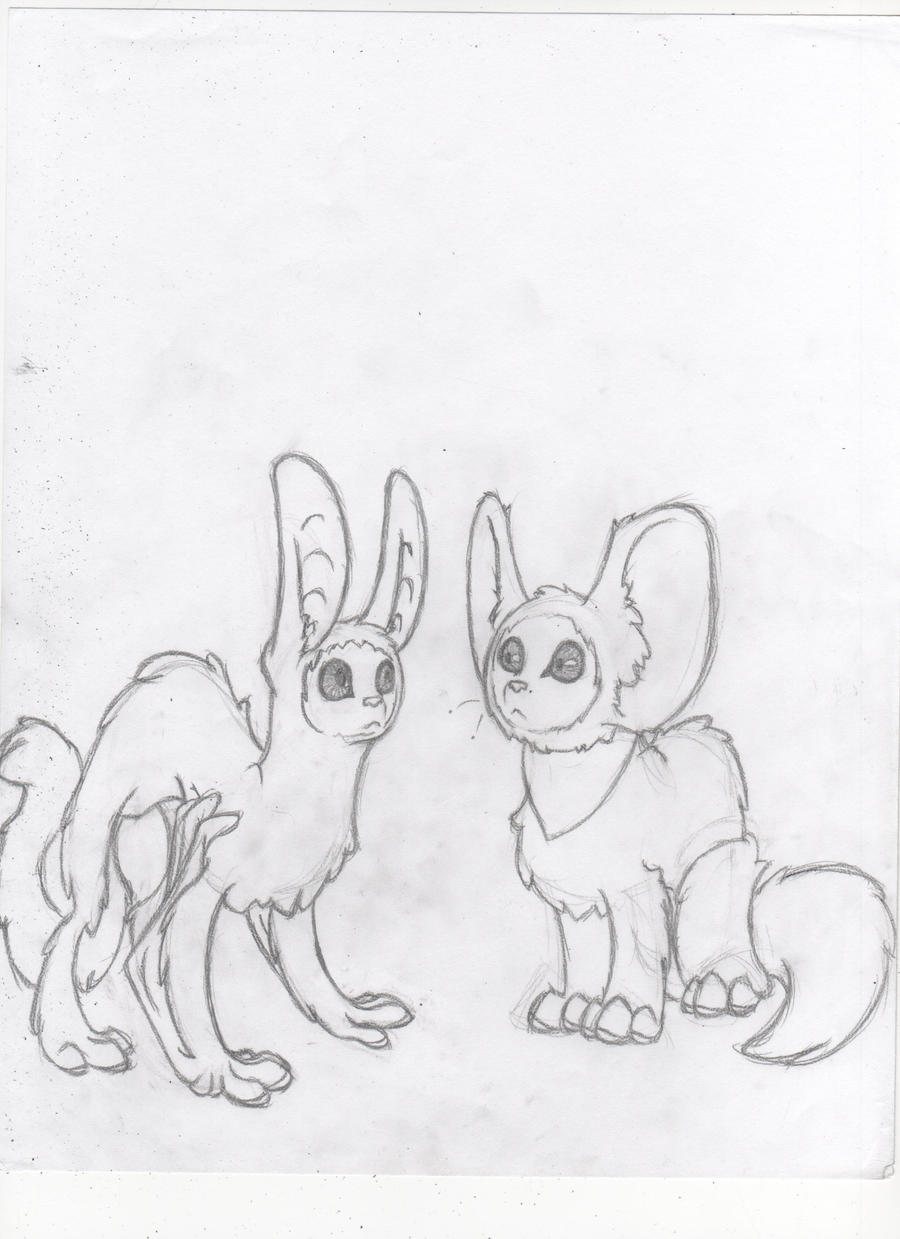 Momo and Mia by Dragimal