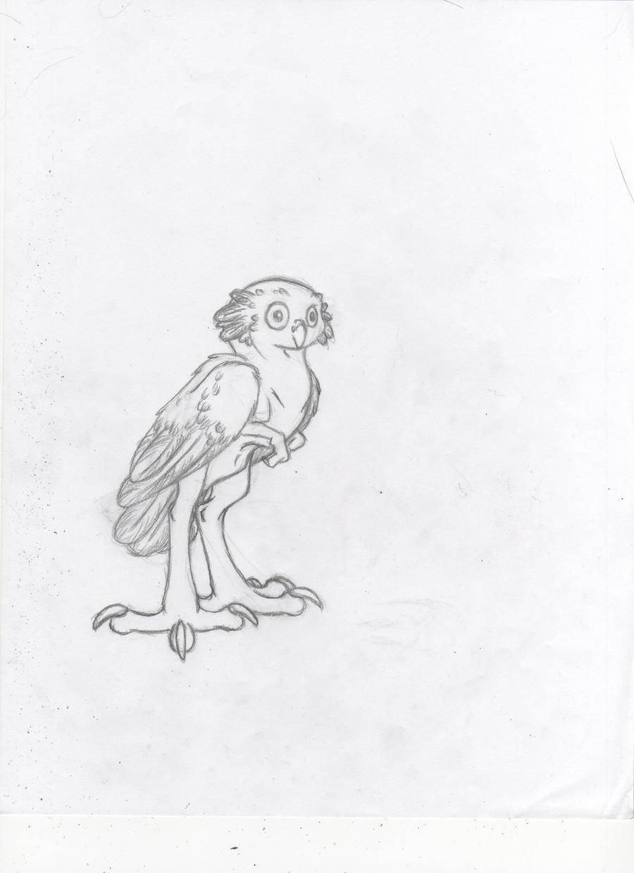 Burrowing Owl Dragon by Dragimal