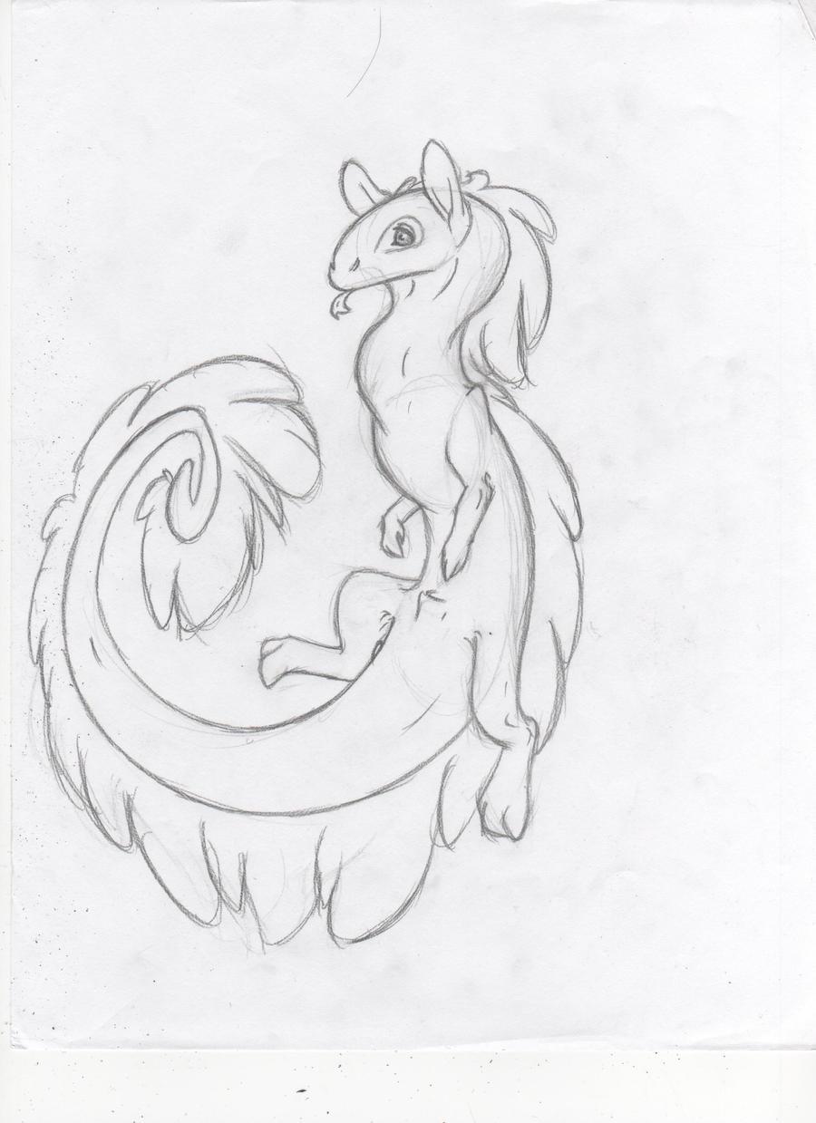 Random Lung Dragon by Dragimal