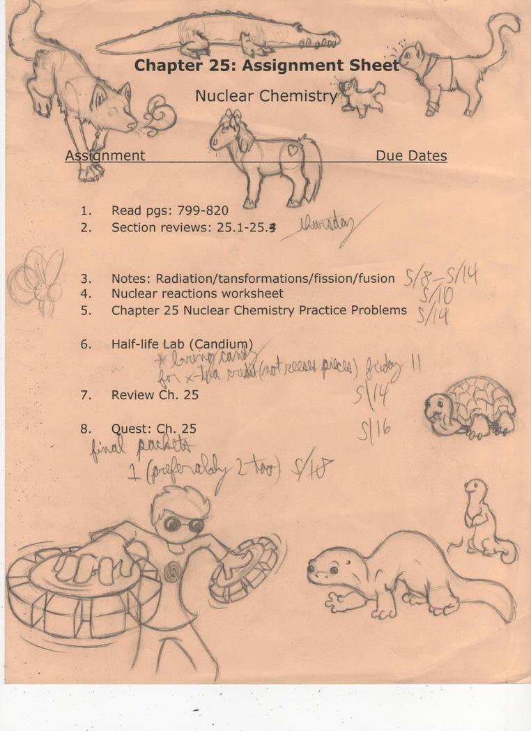 Homestuck Animals in Chemistry by Dragimal on DeviantArt