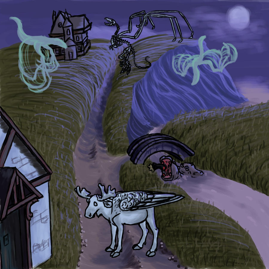 Ravenhearst Chatcrap by Dragimal