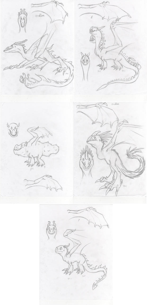 HTTYD Dragon Dump by Dragimal