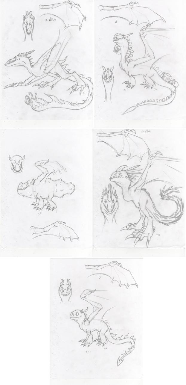 HTTYD Dragon Dump by Dragimal
