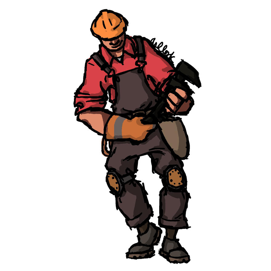 TF2 Engineer by Dragimal