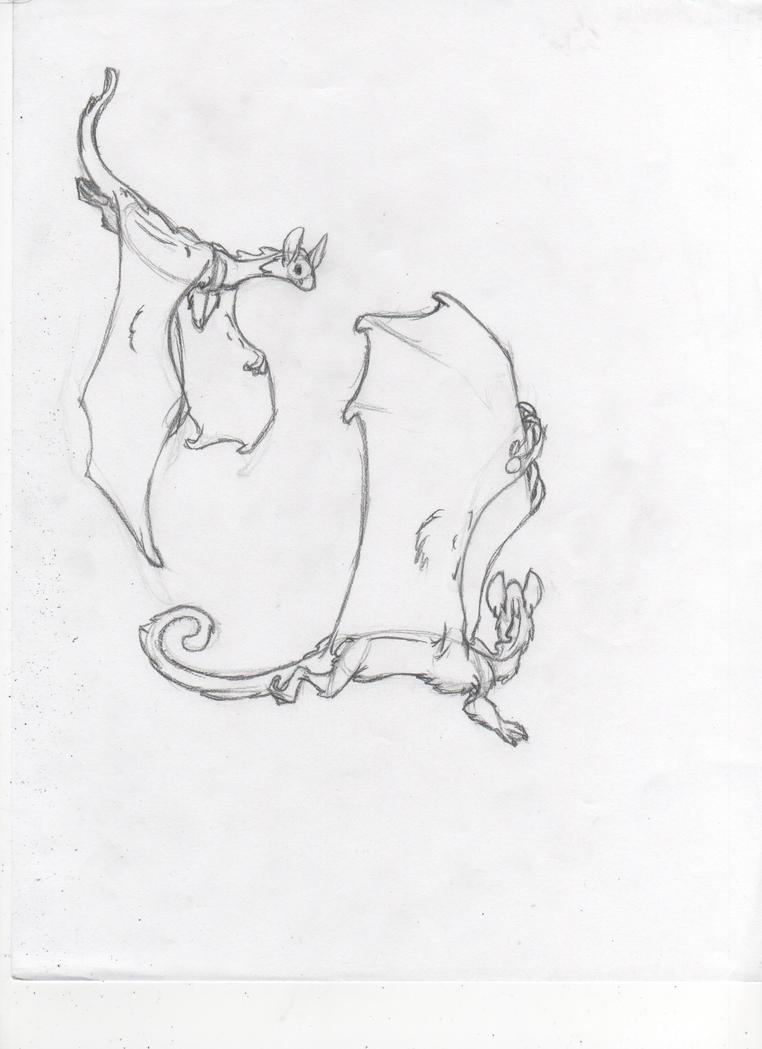 Cresteds Flying by Dragimal