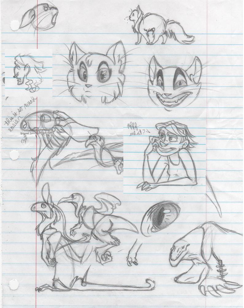 Sketchoodles by Dragimal