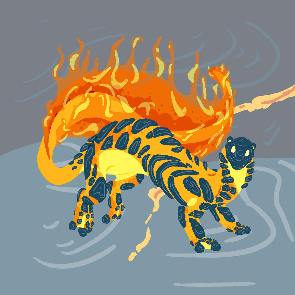 Fire Lung by Dragimal