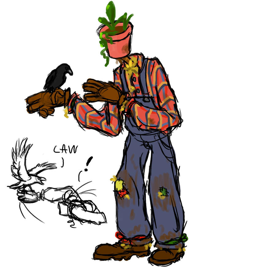 Potted Plant Objecthead by Dragimal
