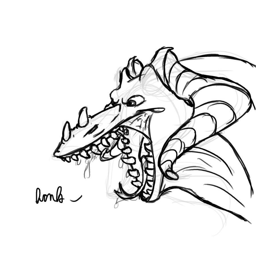 Dragon Bust by Dragimal