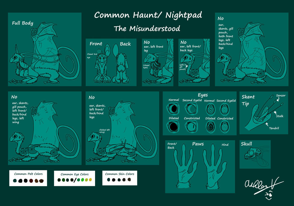 Common Haunt/Night Pad (OLD!) by Dragimal