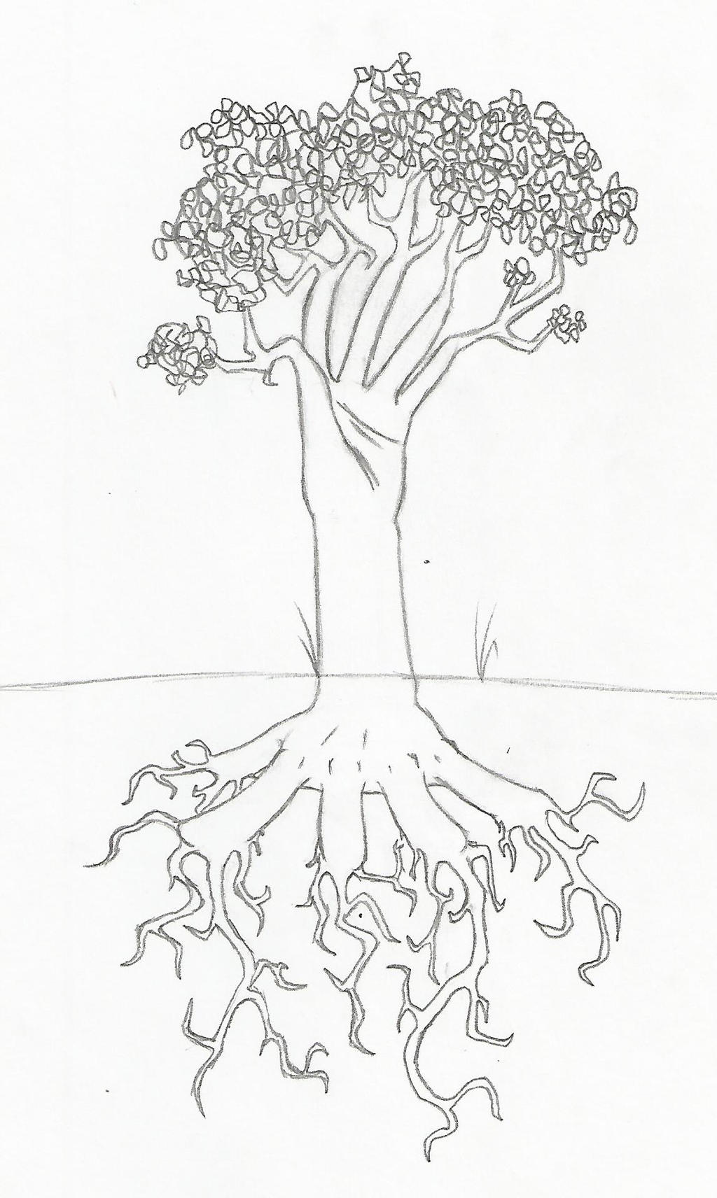 Hand Trees by Dragimal