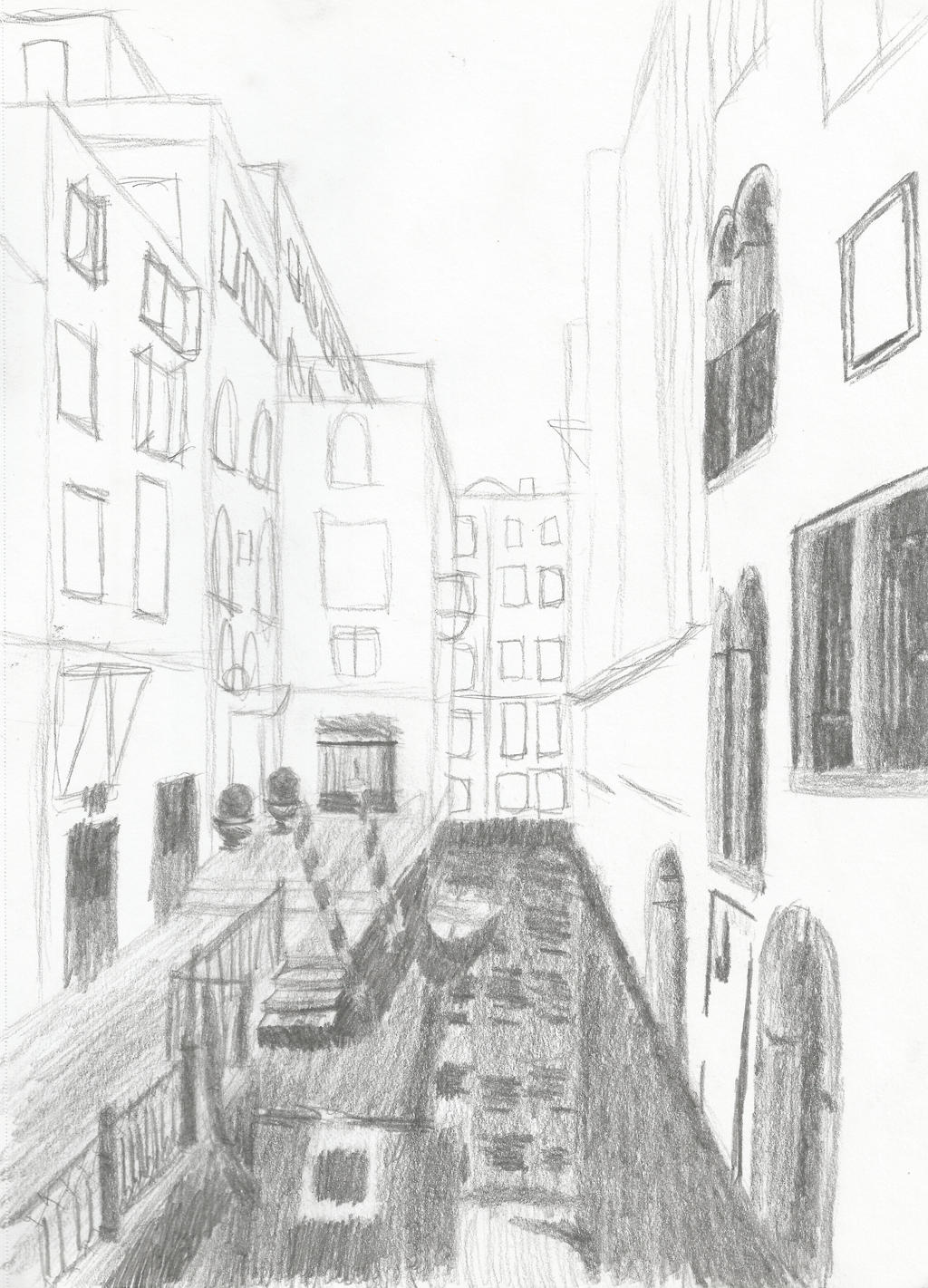 Venice Sketch by Dragimal
