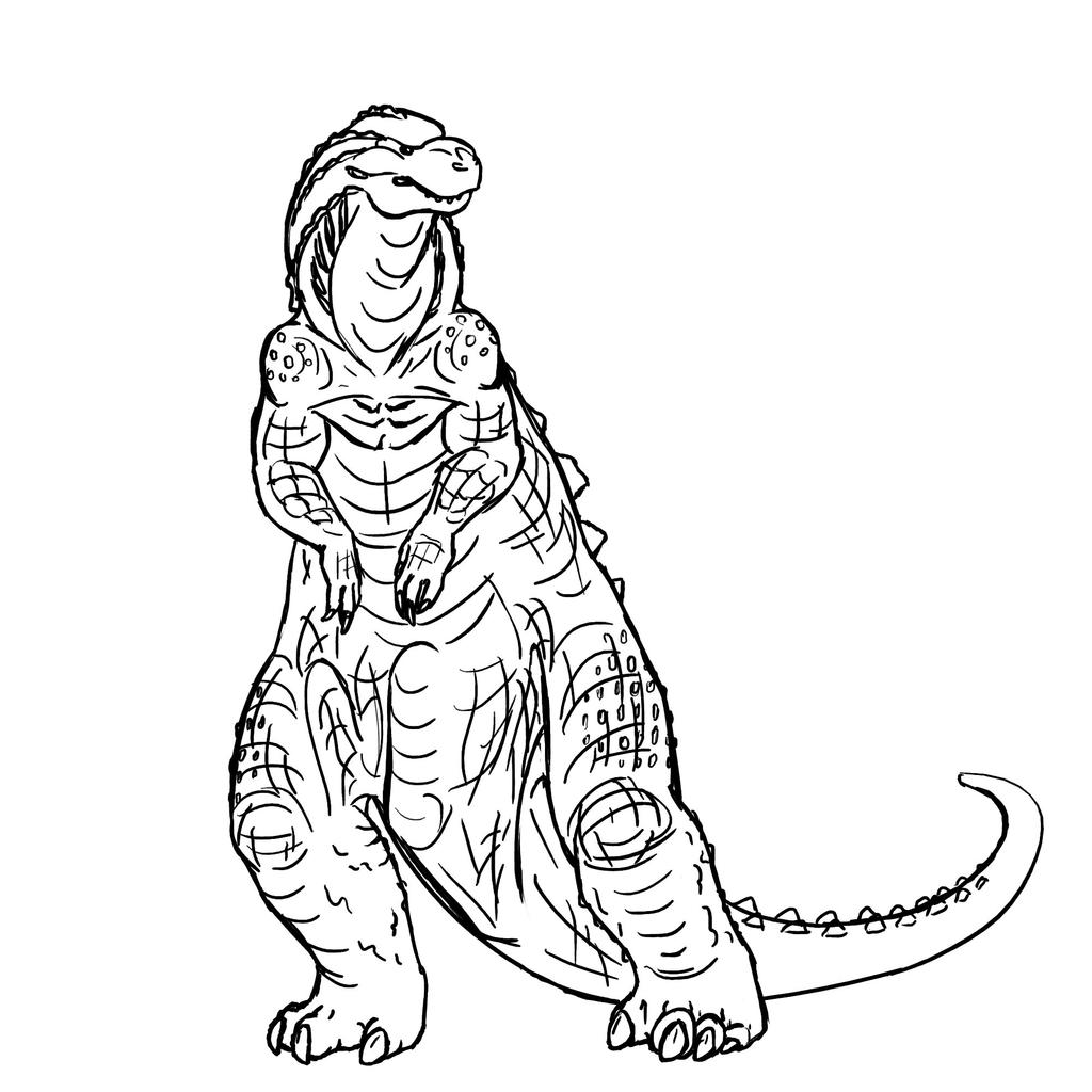 Godzilla by Dragimal