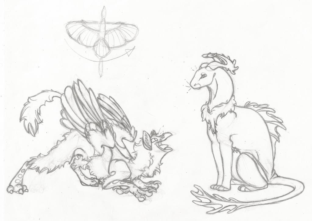 HQ!! Dragons by Dragimal