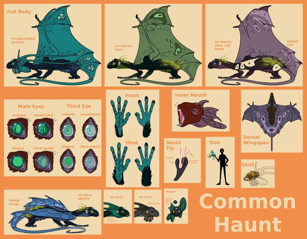 Common Haunt Ref by Dragimal