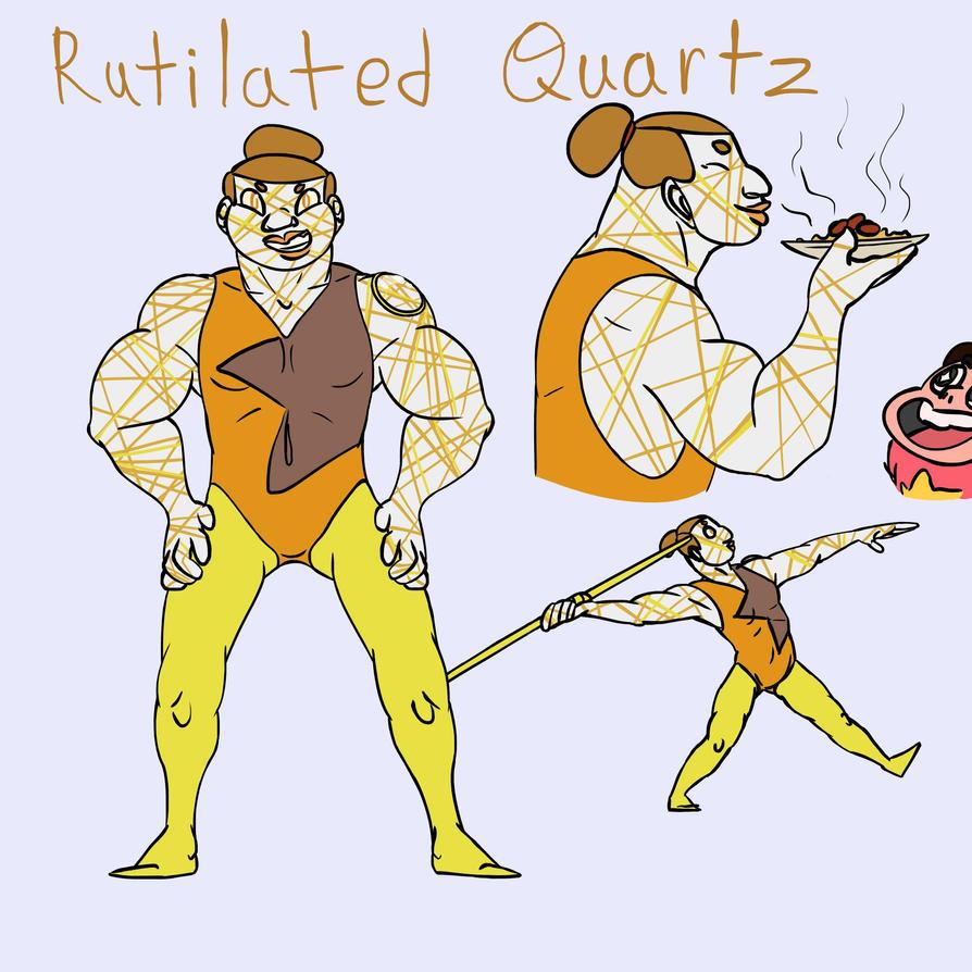 Rutilated Quartz FC by Dragimal