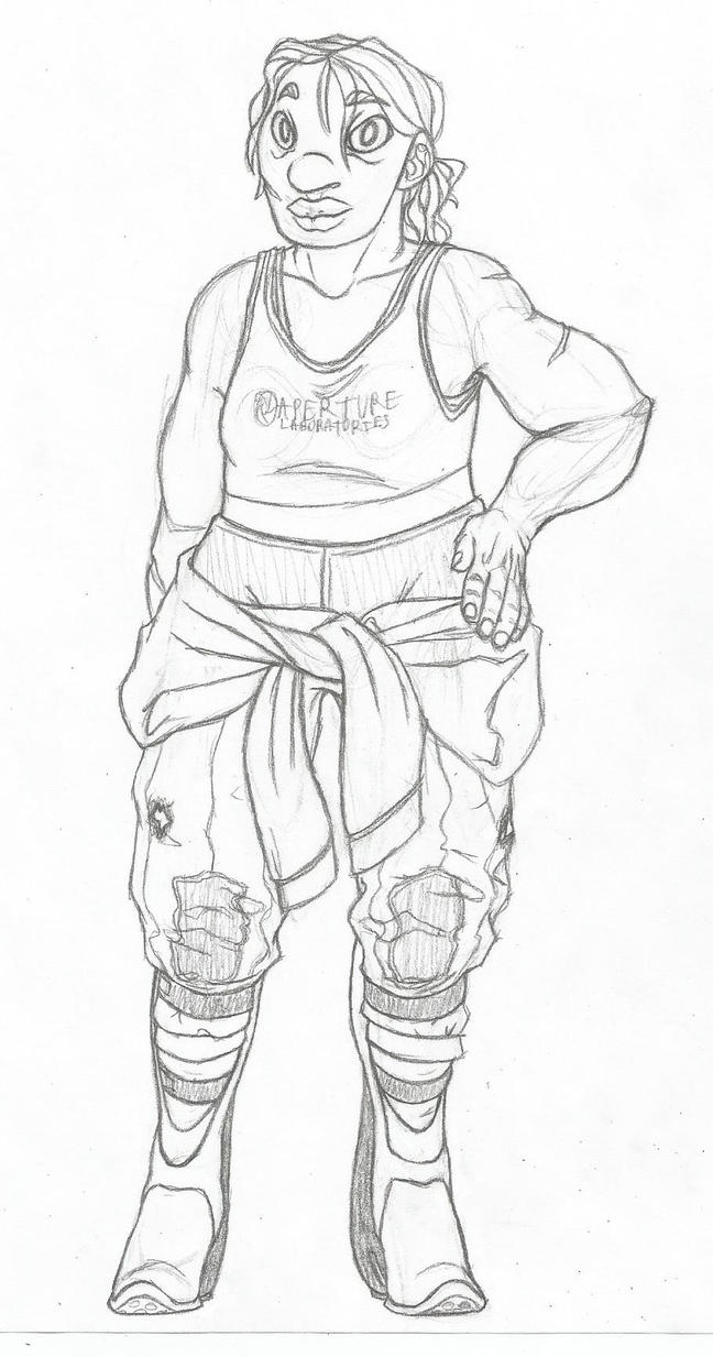 Chell by Dragimal