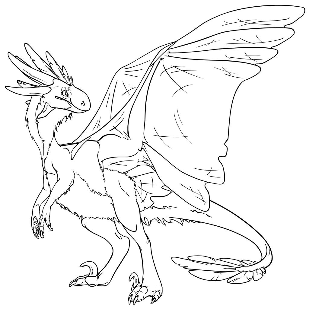 FR Wildclaw Coloring by Dragimal
