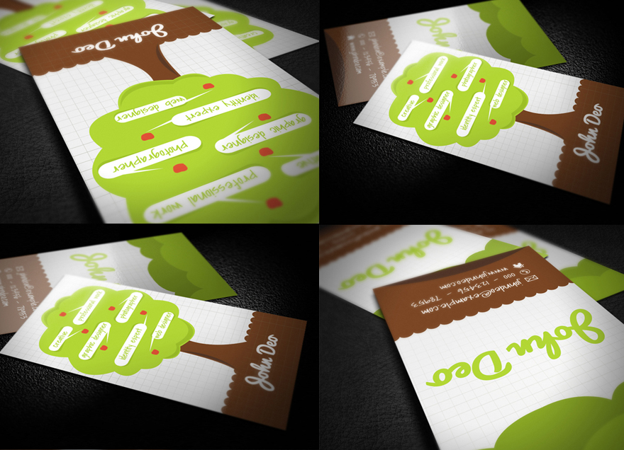 Creative tree business card by myjilson on deviantart creative tree business card by myjilson colourmoves