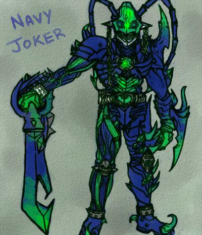 Kamen Rider Chalice Joker Form