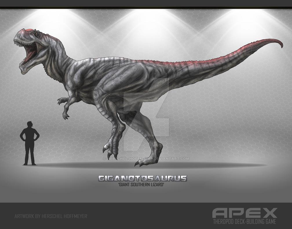 Giganotosaurus by Herschel-Hoffmeyer on DeviantArt