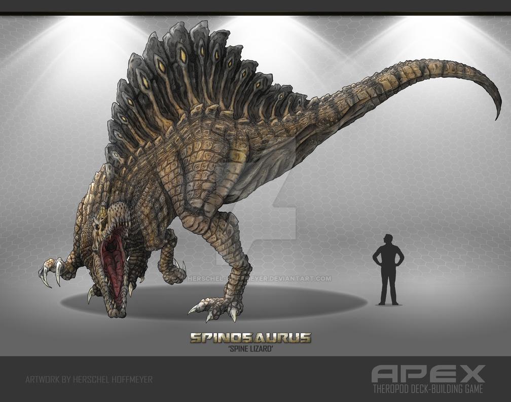 Spinosaurus by herschel hoffmeyer on deviantart
