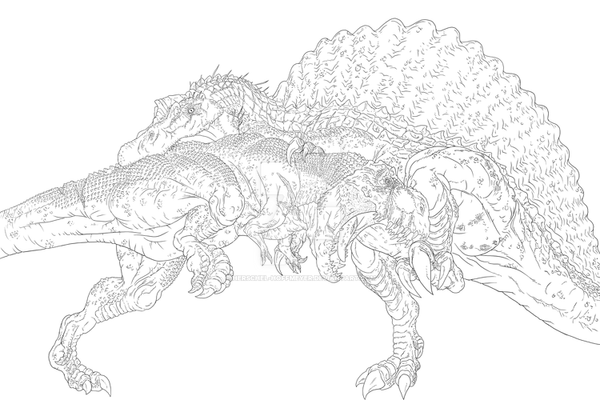 Image Result For T Rex Coloring Page Fd