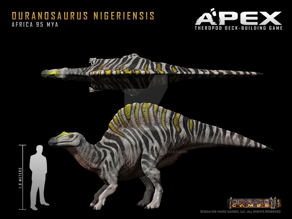 Ouranosaurus Nigeriensis by Herschel-Hoffmeyer on DeviantArt