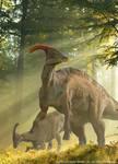 Parasaurolophus Card