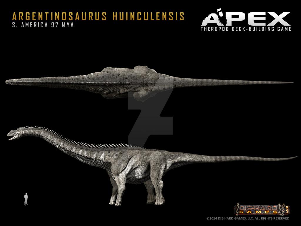 Argentinosaurus huinculensis by Herschel-Hoffmeyer on ...
