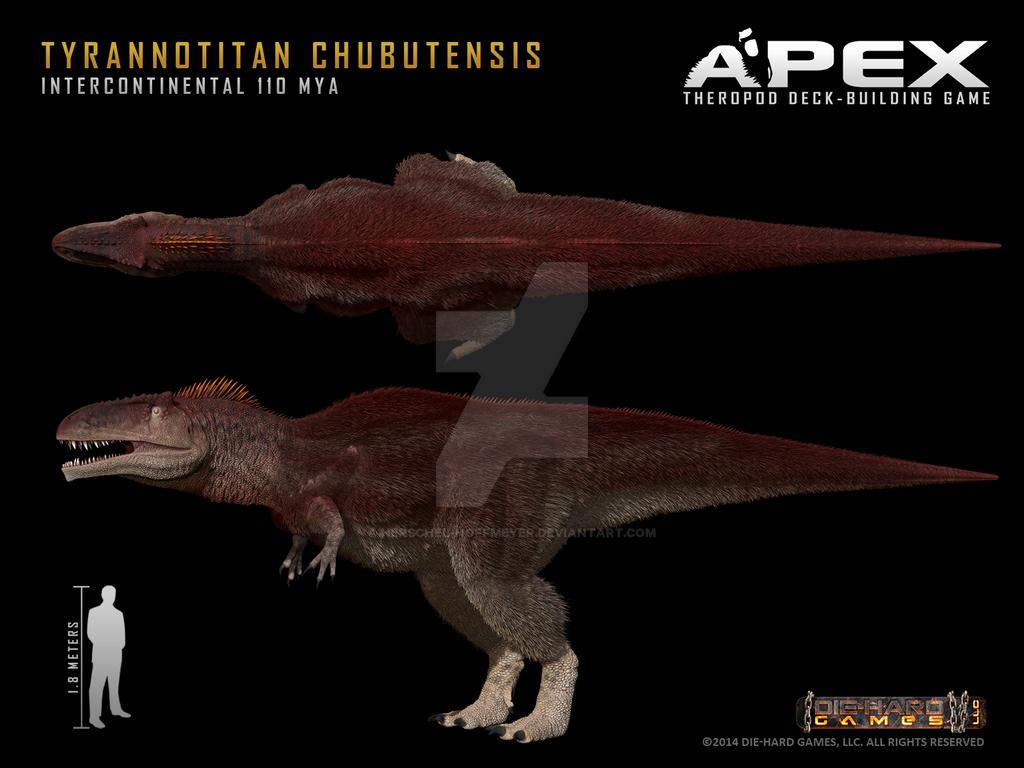 Tyrannotitan chubutensis by Herschel-Hoffmeyer