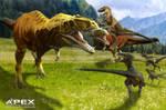 Giganotosaurus vs Utahraptor